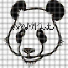 plastic canvas patterns panda bear free | Anniversary Cross Stitch Patterns – Catalog of Patterns
