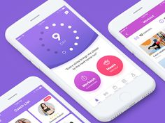 Fitness app by SELECTO #Design Popular #Dribbble #shots