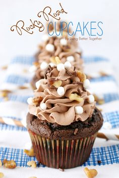 Rocky Road Cupcakes: