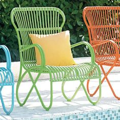 vintage patio chairs - Google Search