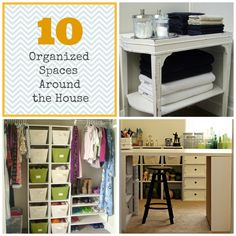 10 Organized Spaces