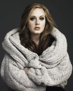 """Adele  """"It's never been an issue for me - I don't want to go on a diet, I don't want to eat a Caesar salad with no dressing, why would I do that? I ain't got time for this, just be happy and don't be stupid. If I've got a boyfriend and he loves my body then I'm not worried."""""""