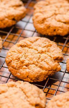 Vegan Peanut Butter Cookies (Gluten-Free Too)