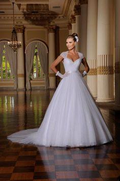 Vestido de noiva Center Noivas Coleção Jasmim 29 original.