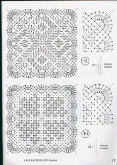 Lace Doilies, Crochet Doilies, Bobbin Lacemaking, Bobbin Lace Patterns, Lace Heart, Lace Jewelry, Square Patterns, Needle Lace, Lace Making
