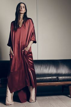 Silk tunic over trou