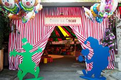 great entrance to a circus party#Repin By:Pinterest++ for iPad#
