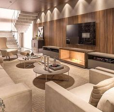 This is a cool basement Home Room Design, Home Interior Design, Living Room Designs, Interior Architecture, Living Spaces, House Design, Living Rooms, Living Room Grey, Living Room Decor
