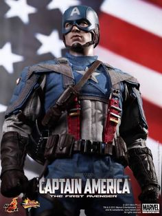 Captain America from Hot Toys