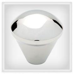"BRAINERD 1"" Orbit Knob"" - P20416W-PC-C (BRAINERD P20416W-PC-C), Decorative Knobs for Kitchen or Bathroom Cabinet Doors & Furniture   Liberty Hardware"