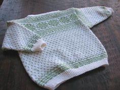 Baby Intarsia sweater.