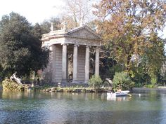 Villa Borghese Park is like Rome's Central Park. It is large and peaceful; a perfect respite from the city.