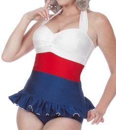 sailor tankini