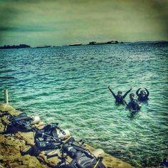 menyelam.. #dive #diving #openwater #NAUI #globaldivecentre