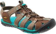A great new women's KEEN sandal, light in everything but protection.