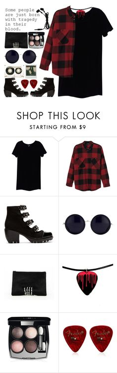 """""""grunge"""" by milicamonaj ❤ liked on Polyvore featuring Wilfred Free, Monki, Opening Ceremony, The Row, Chanel, CASSETTE, Polaroid, Laura B, women's clothing and women"""