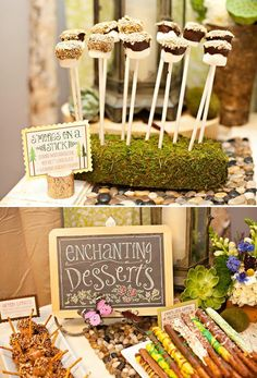 enchanted forest first birthday