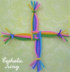 st brigid's cross craft 1