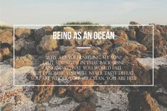 -Being As An Ocean - The Sea Always Seems To Put Me At Ease