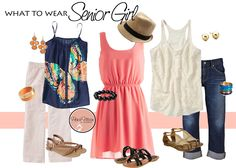 What to Wear | Senior Girl