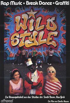 Wild Style 27x40 Movie Poster (1984)