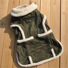 Transer Creative Hot Dog Winter Warm Clothes Pet Dog Costume