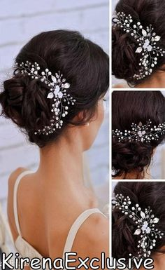 Wedding hair accessories Crystal hairpiece bridal Crystal hair vine Bridal hair vine Bohemian headpiece Wedding hair vine Bridal hair piece Beaded tiara, hair vine, crowns, headbands, hair combs, and hair pins are handmade using high-quality Czech glass beads, crystal and ceramic