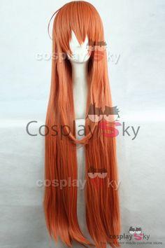 Monster Musume Miia Cosplay Wig Orange-4
