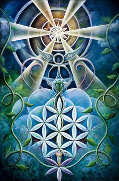 Sacred Geometry meets Divine Creative Energy.  I am so moved by the light, life…