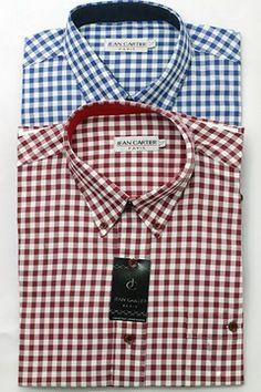 Camisa a cuadros con bolsillo. - Cod 0093 - comprar online
