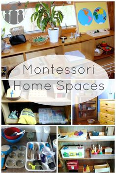 Montessori Home Spaces