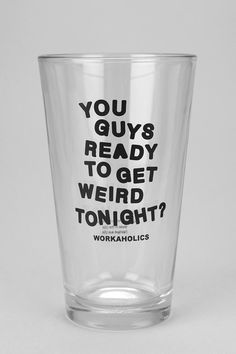 #UrbanOutfitters          #Apparment #Dinnerware    #workaholics #infamous #measurements #comedy #must-have #content #pint #central #exclusive #dishwasher #hand #glass               Workaholics Pint Glass    Overview:* Pint glass topped with a text-graphic inspired by Comedy Central's infamous trio* A must-have for any Workaholics fan* Dishwasher safe* UO Exclusive Measurements:* 3.25 diameter* 5.75h Content & Care:* Glass* Hand wash* Imported…