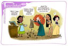 Pocket Princesses 193: Hunting Please reblog, do not repost, edit or remove captions Facebook page ~ Instagram