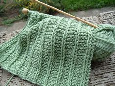 Laura's Blog Entry One thing I like to knit, when I am tired and everything else seems too complicated, is washcloths. Mari uses them to wash her face each morning, so they are useful. Many pattern…