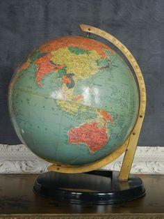 pretty vintage modern globe