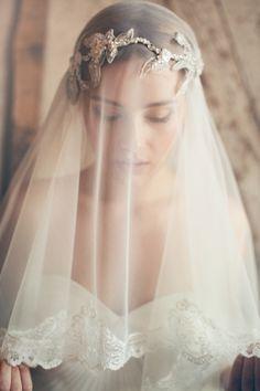 Jannie Baltzer Bridal Headpieces 2015