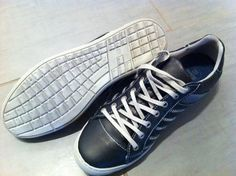 QWERTY keyboard soled shoes (Brown's B2 Special?)