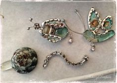Sally Jean class- soldered bugs made by Christine Barker