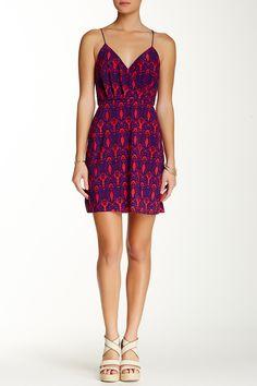 Surplice Print Dress by TBags on @HauteLook