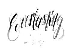 Creative Everlasting, Typeface, Ink, Script, and Handwritten image ideas & inspiration on Designspiration Hand Drawn Type, Hand Drawn Lettering, Lettering Guide, Typography Letters, Typography Design, Alphabet Fonts, Calligraphy Letters, Typography Inspiration, Design Inspiration
