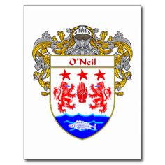 O'Neil Coat of Arms - Red Hand of Ulster