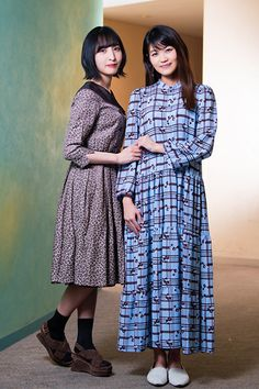 Saori Hayami, Japan Woman, Handsome, High Neck Dress, Dresses With Sleeves, Actresses, Young Women, Long Sleeve, Lovers
