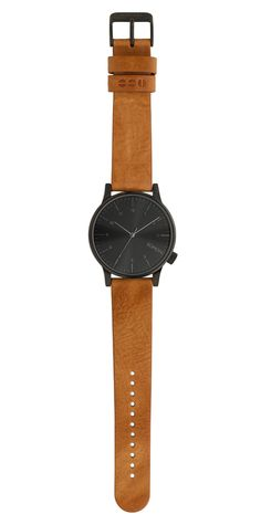 New and popular Komono watches with a genuine leather wristband. The Winston Regal is the most eminent Winston design yet. A modern, colorful Komono watch for men and women.