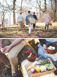 feed the body and soul-- enjoy the beauty of creation with those you love around a picnic blanket or campfire.