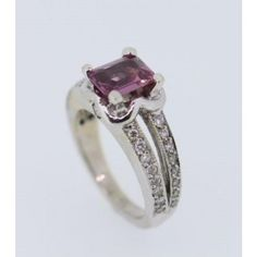 Rhodolite Garnet and Diamond Dress Ring 0.40ct Total Diamond Weight - Gold City - Brand