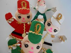 Christmas Gift Wrap Accents Vintage Toy Soldiers