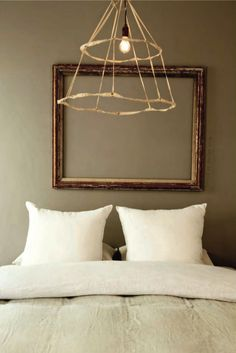 On a budget: invest in beautiful and quality bedding, and a few simple accessories will always work.