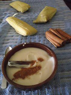 Majarete (Coconut and Corn Pudding) from Venezuela.