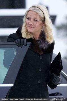 Crown Princess Mette-Marit, February 2, 2015   Royal Hats