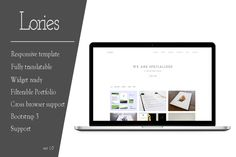 Check out Lories - Portfolio & Agency Wordpres by WPKnights on Creative Market